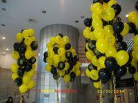 Συνθέσεις μπαλονιών με ήλιον