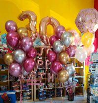 Μπαλόνια shiny κι αριθμοί