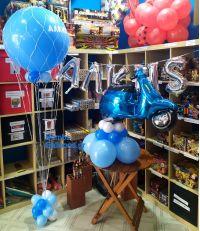 Βέσπα, όνομα και αερόστατο