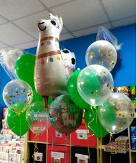 Μπαλόνια λάμα γενεθλίων
