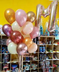 Shiny μπαλόνια για shower party