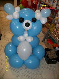 Κατασκευή μπαλονιών Αρκουδάκι