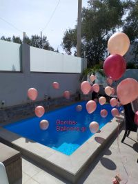 Στολισμός πισίνας