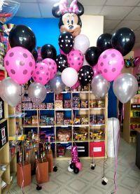 Μίνυ και πουά μπαλόνια