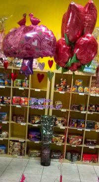 Ομπρέλα αγάπη και τριαντάφυλλα