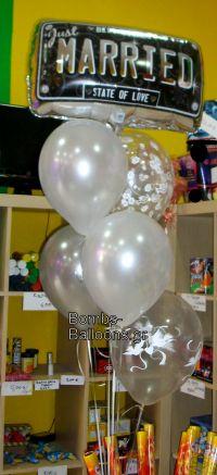 Μπαλόνια Just Married