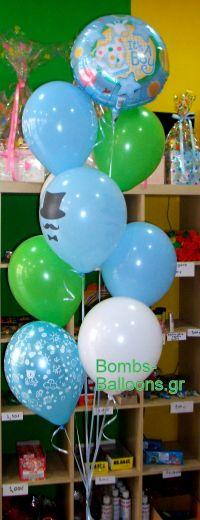Μπουκέτο μπαλονιών