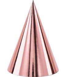 Καπελάκια ροζ χρυσά