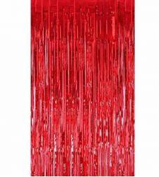 Κουρτίνα κόκκινη