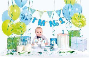 Σετ πάρτυ πρώτα γενέθλια αγόρι I'm one