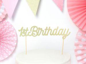 Διακοσμητικό τούρτας 1st Birthday