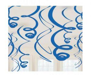 Διακοσμητικά οροφής swirl μπλε