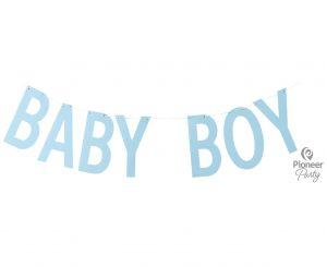 Baby boy γράμματα - banner