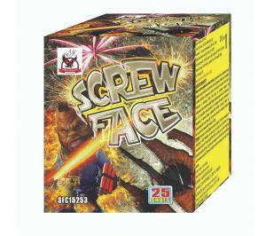 screw-face 25 Βολές