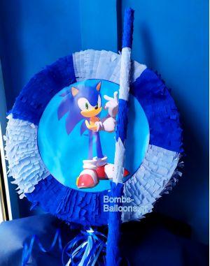 Πινιατα Sonic με μπαστούνι