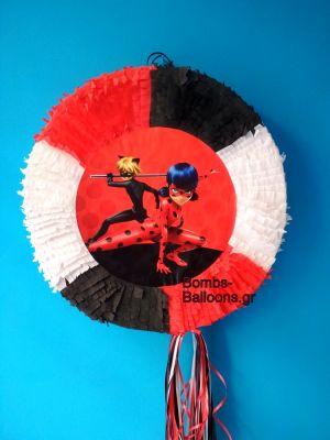 """Πινιάτα """"Miraculous Ladybug"""""""