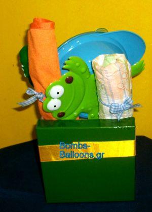 Κουτί με πάνες αγόρι 2