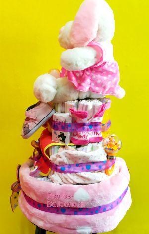 τούρτα τριώροφη κορίτσι 7