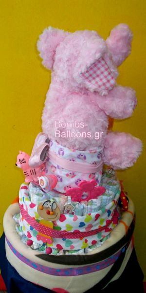 τούρτα τριώροφη κορίτσι 6