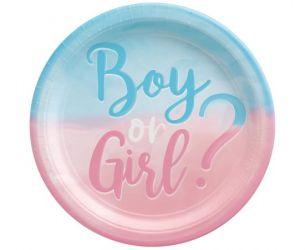 Πιάτα Boy or Girl