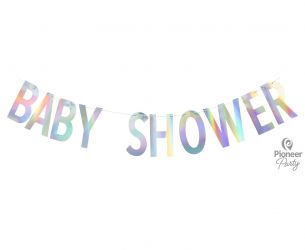 Baby shower - γράμματα banner
