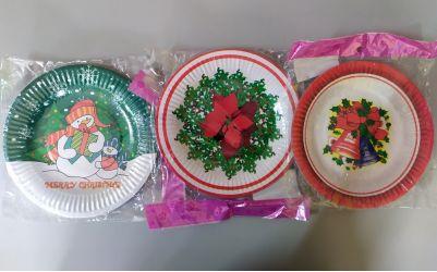Πιατάκια μικρά χριστουγεννιάτικα
